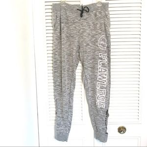 Bobbie Brooks Skinny Sweatpants with Cutouts!